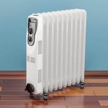 consumo radiador de aceite