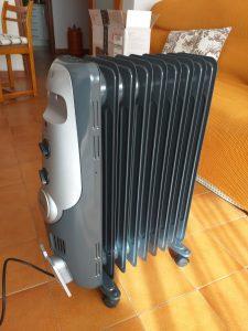 radiador aceite bajo consumo